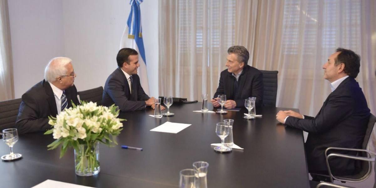 Rosselló se reúne con presidente de Argentina