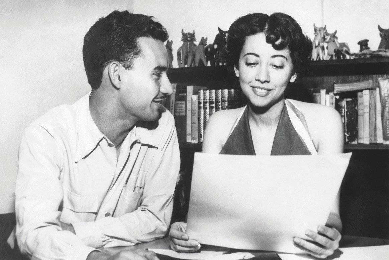 Em 1953, recém-casada com Fernando Torres | Acervo Pessoal