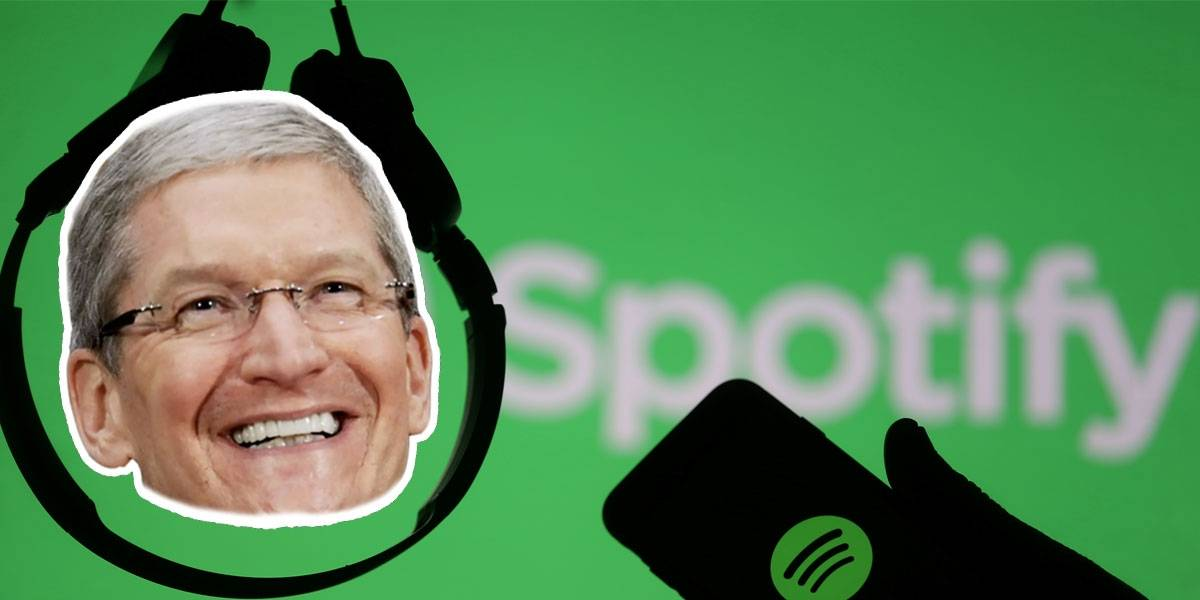 Spotify y Samsung declaran la guerra a Apple