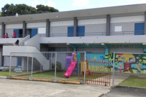 Escuela Manuel A. Díaz en Morovis