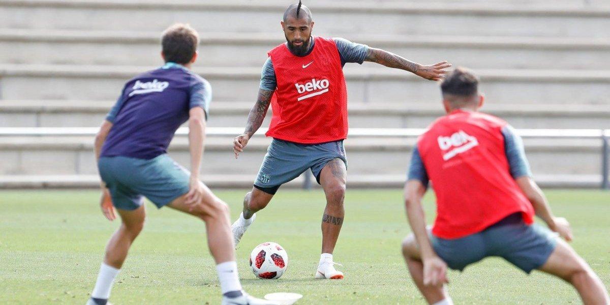 Se acerca el debut de Vidal en Barcelona: Valverde lo citó para el duelo de la Supercopa
