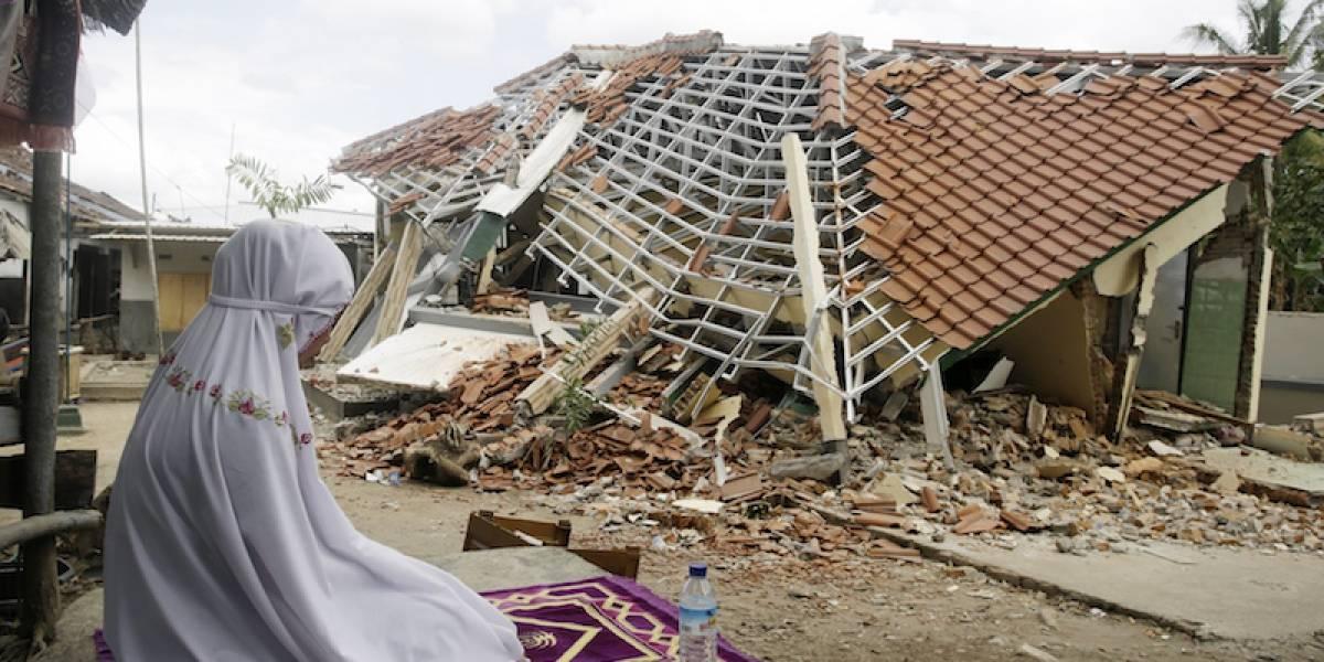 Tras terremoto, el suelo de Indonesia se elevó 25 centímetros