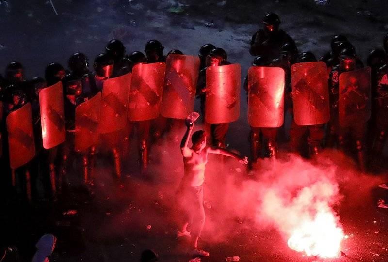 Manifestaciones en Rumania