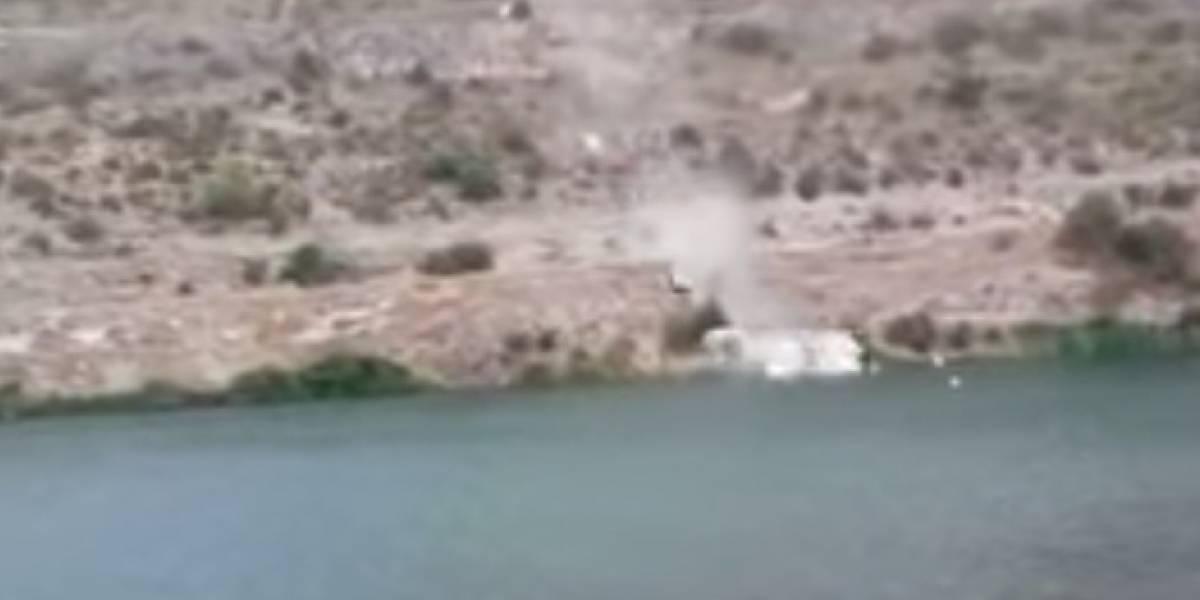 Olvidó poner el freno del auto: se bajó para fotografiar el paisaje y su mujer cayó por un acantilado