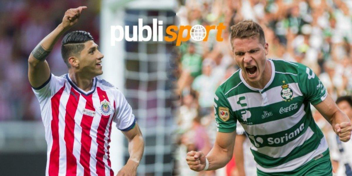 Chivas vs Santos ¿Dónde y a qué hora ver el partido?