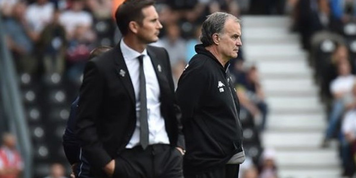 Bielsa sigue arrasando en Inglaterra y ahora el Leeds goleó a domicilio al Derby County de Frank Lampard