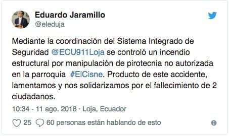 Twiter- Eduardo Jaramillo