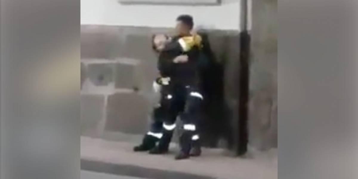 Quito: Video de paramédicos en supuesto estado etílico se viraliza
