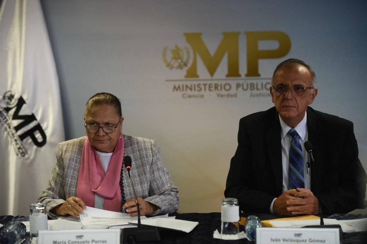 Fiscal María Consuelo Porras