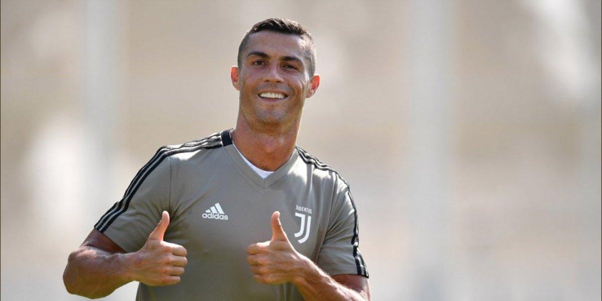 """Cristiano Ronaldo será parte de una antigua tradición en su debut con la """"Juve"""""""