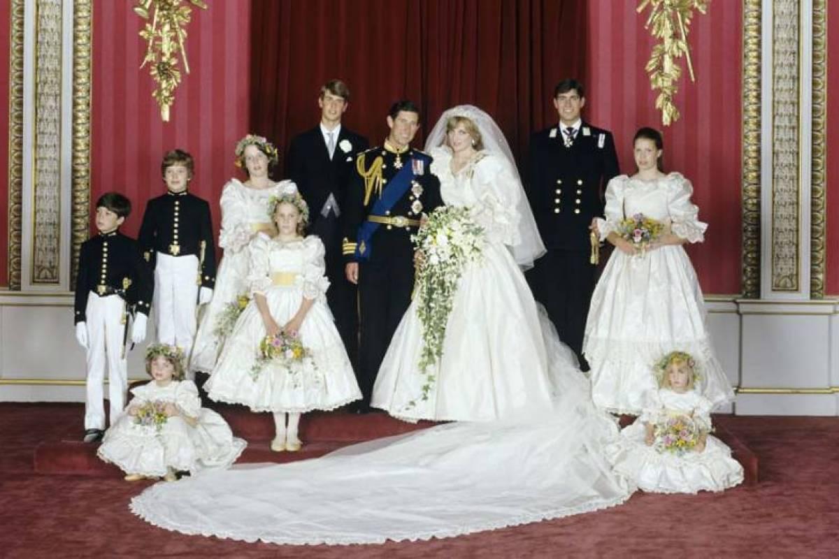 El vestido de novia de lady diana