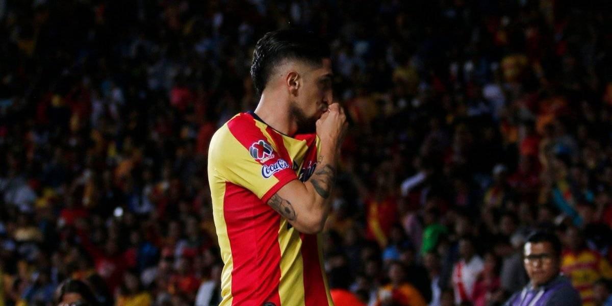 Diego Valdés convirtió un golazo en la victoria de Morelia ante Necaxa