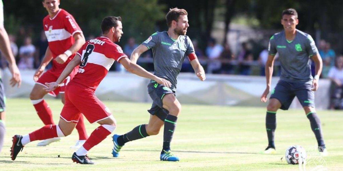 Héctor Moreno fue titular en la derrota de la Real Sociedad