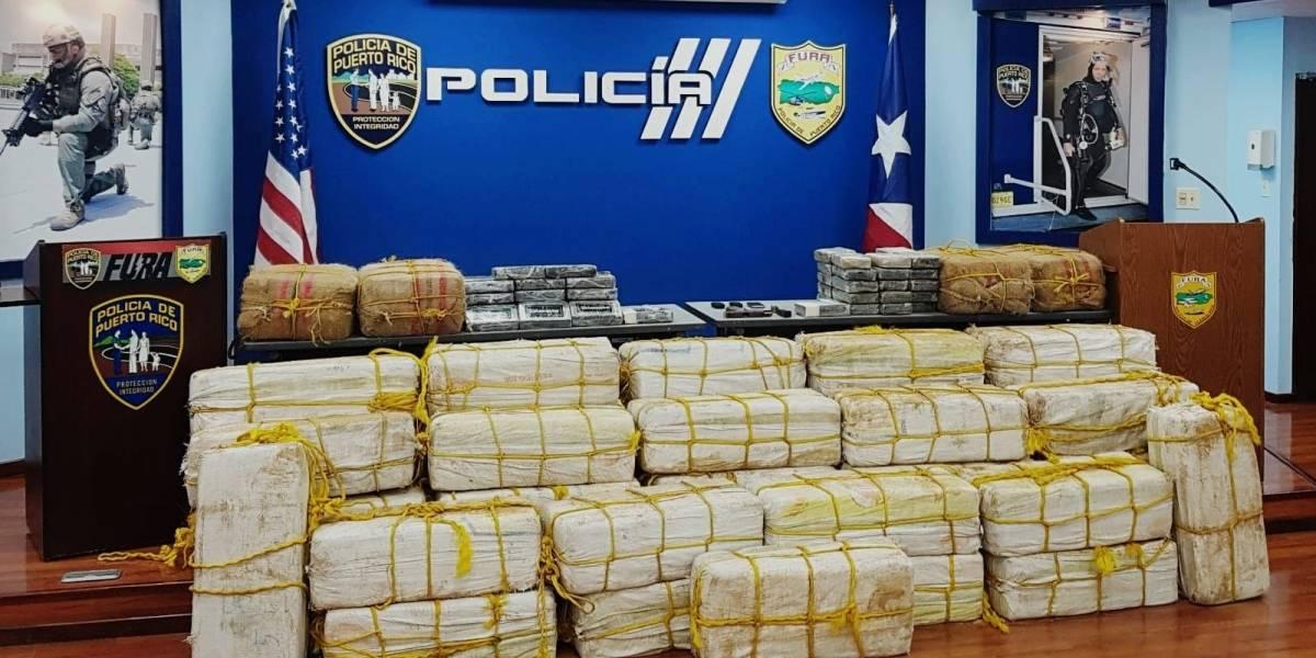 FURA incauta más de 1,400 bloques de cocaína
