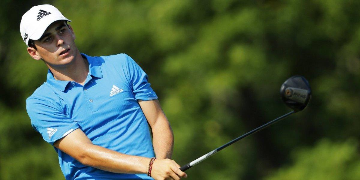 Joaquín Niemann tuvo una difícil jornada en el PGA Championship