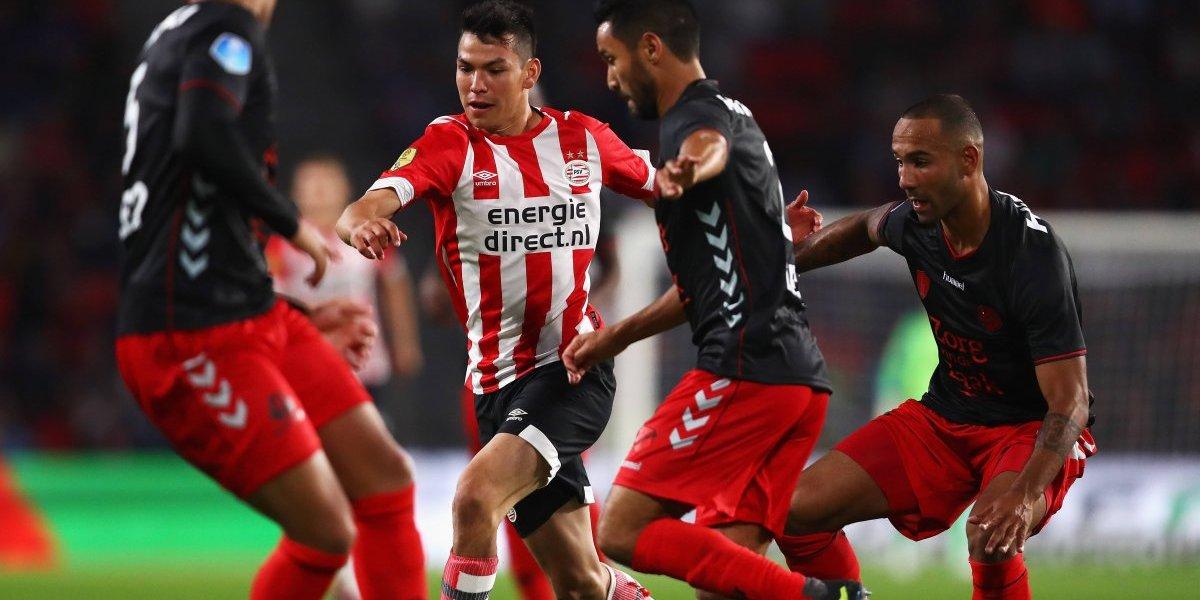 VIDEO: El primer gol de 'Chucky' Lozano de la temporada
