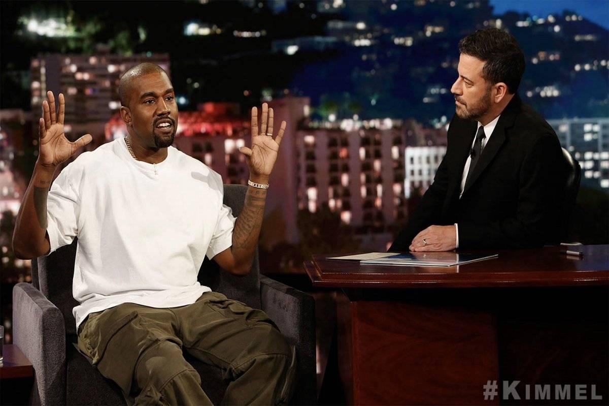 Jimmy Kimmel Kanye West