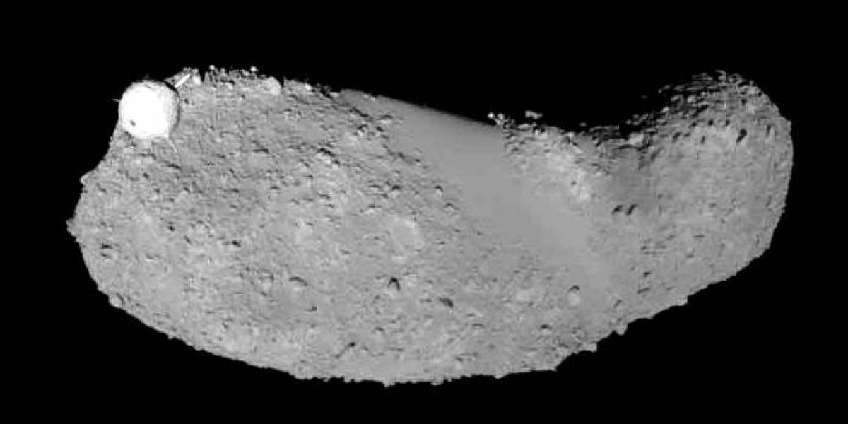Así es como se ve un fragmento de asteroide a través del microscopio