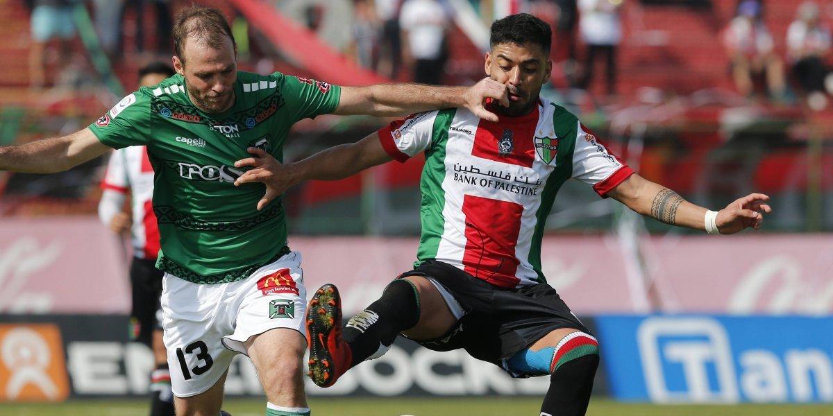 Con Luis Jiménez en las tribunas: Palestino y Temuco firmaron deslucido empate a uno en La Cisterna