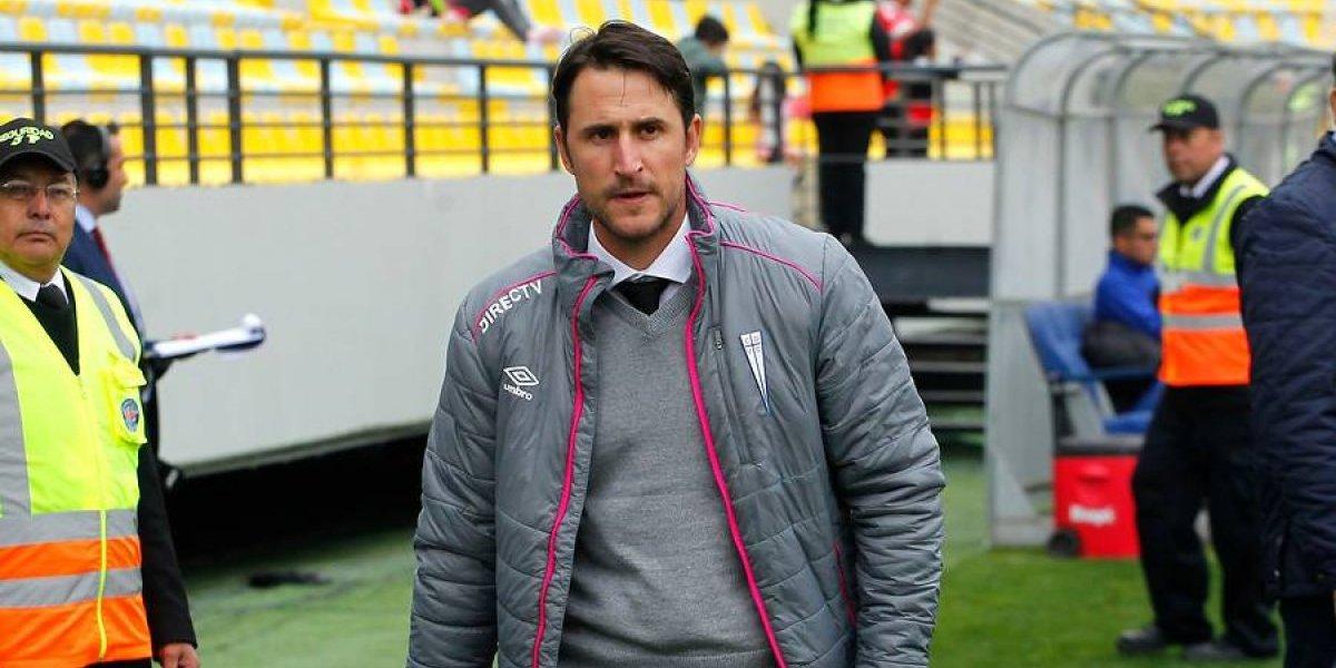 """Beñat San José reclamó contra el arbitraje a la UC: """"Segunda semana que cobran un penal inexistente"""""""