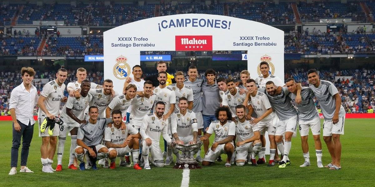VIDEO. El Madrid gana Trofeo Bernabéu en su ensayo antes de la Supercopa de Europa