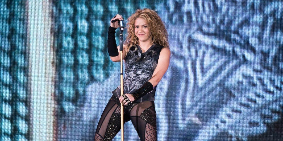 VIDEO. Shakira llora en pleno concierto en la ciudad de Bogotá