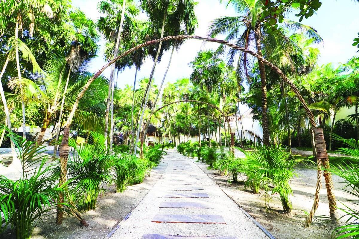 Algunos visitantes describen estos desarrollos como una extensión del paraíso. Cortesía