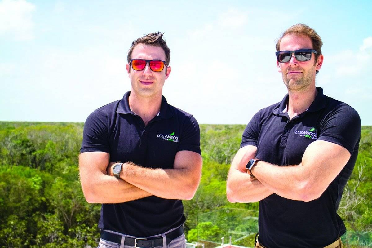 Marc Levy y Nico Wilmes, fundadores del proyecto. Cortesía