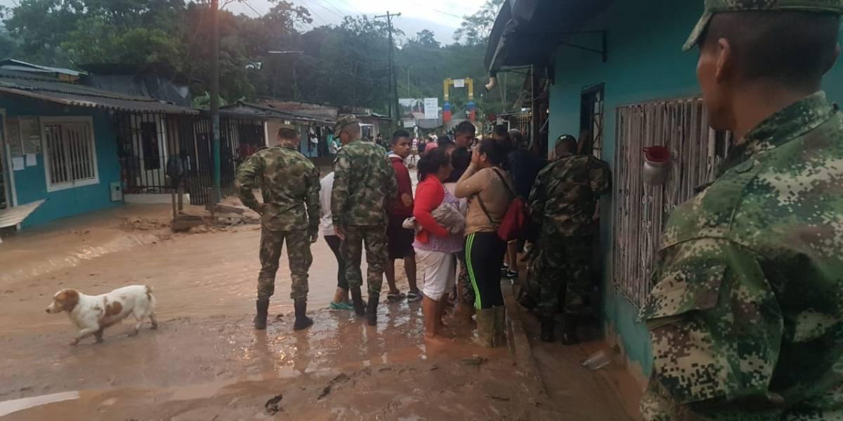 Duque envía 2 ministros a Mocoa para atender emergencia provocada por lluvias
