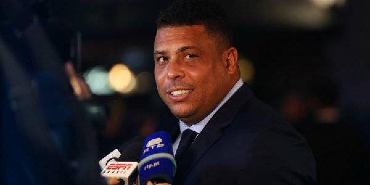 'Fenómeno' Ronaldo manda mensaje tras ser hospitalizado