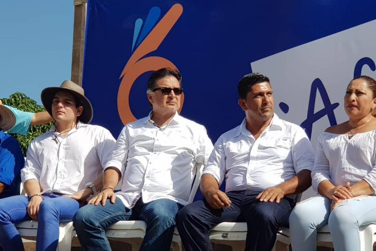 Expresidente Portillo inaugura sede del partido Bien