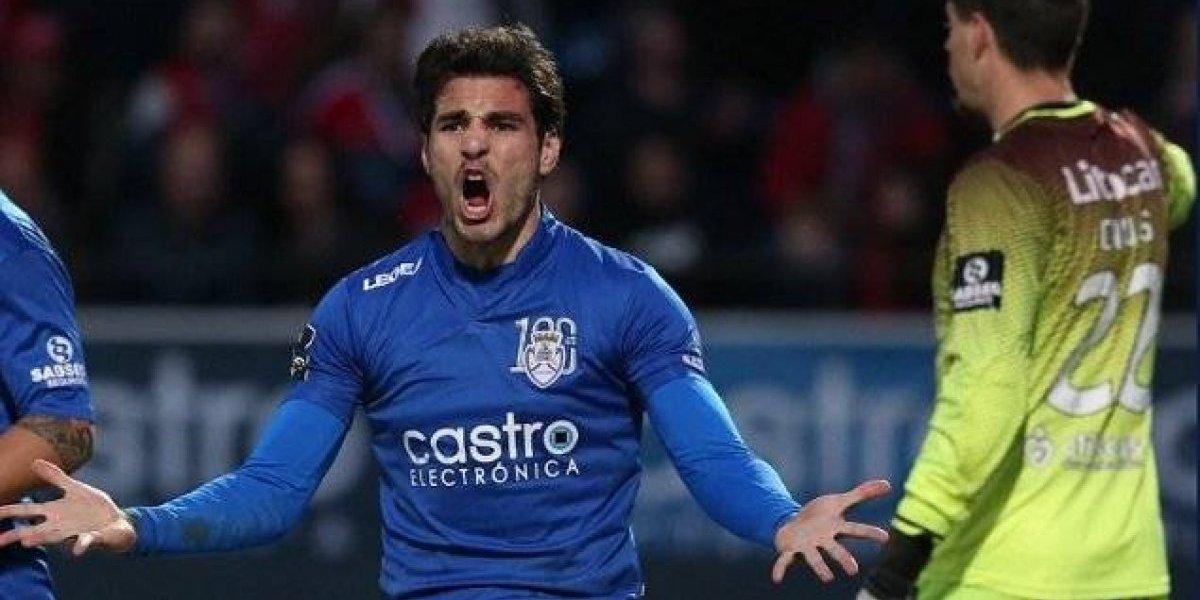 'Pollo' Briseño fue titular en la victoria del Feirense en Portugal