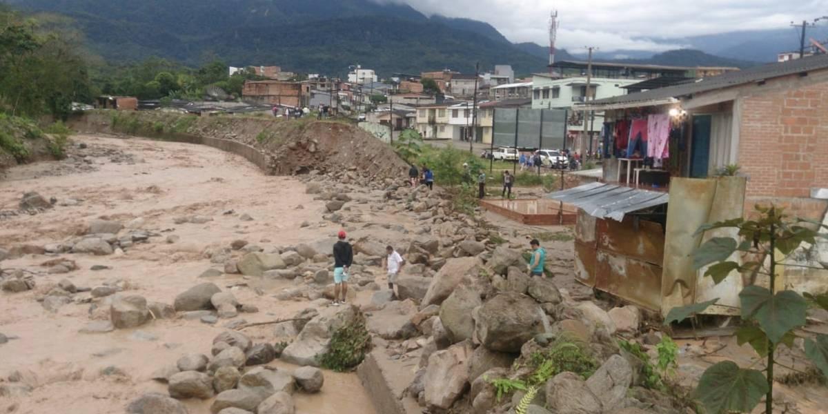 Mocoa amanece colapsada por inundaciones