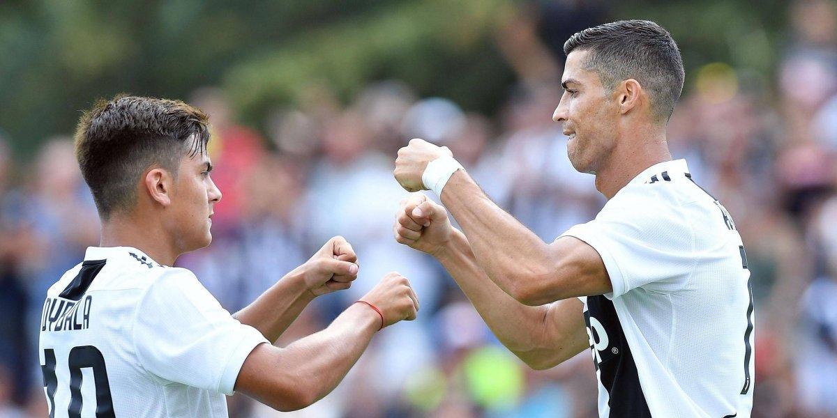 VIDEO. Así anotó Cristiano Ronaldo su primer gol con la Juventus