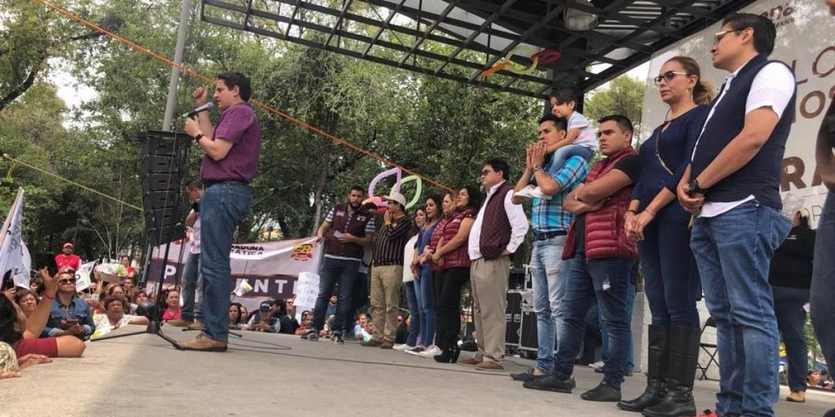 Gobernaré para todos en Cuauhtémoc: Néstor Núñez