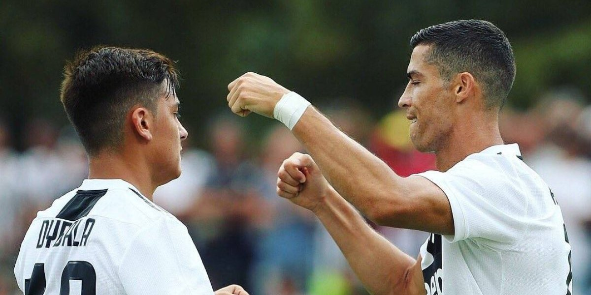 VIDEO: CR7 se estrena con la Juventus con golazo
