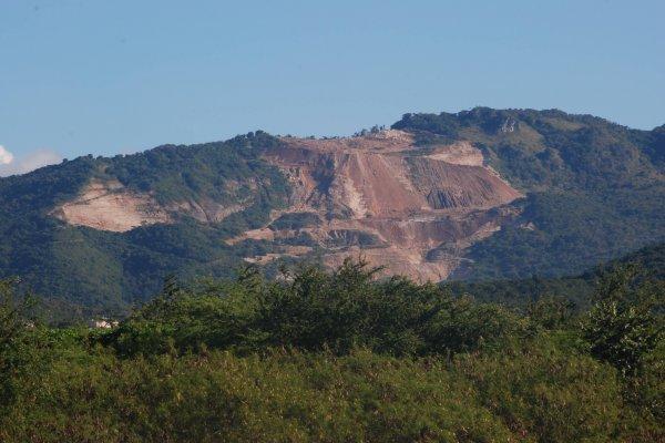 Parte de la zona del karso en Juana Díaz.