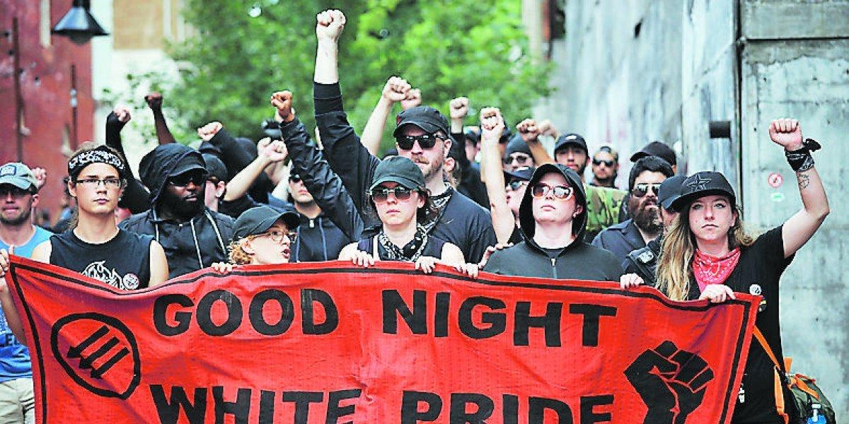 A un año de la Charlottesville, neonazis vuelven a marchar