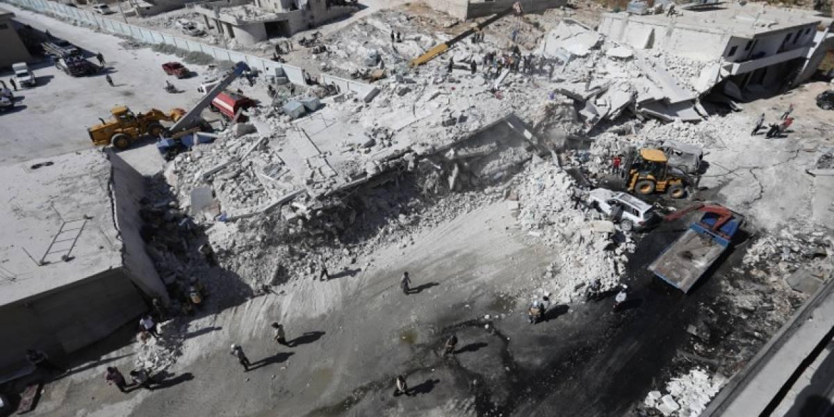 Más de 30 muertos en explosión en depósito de armas en Siria