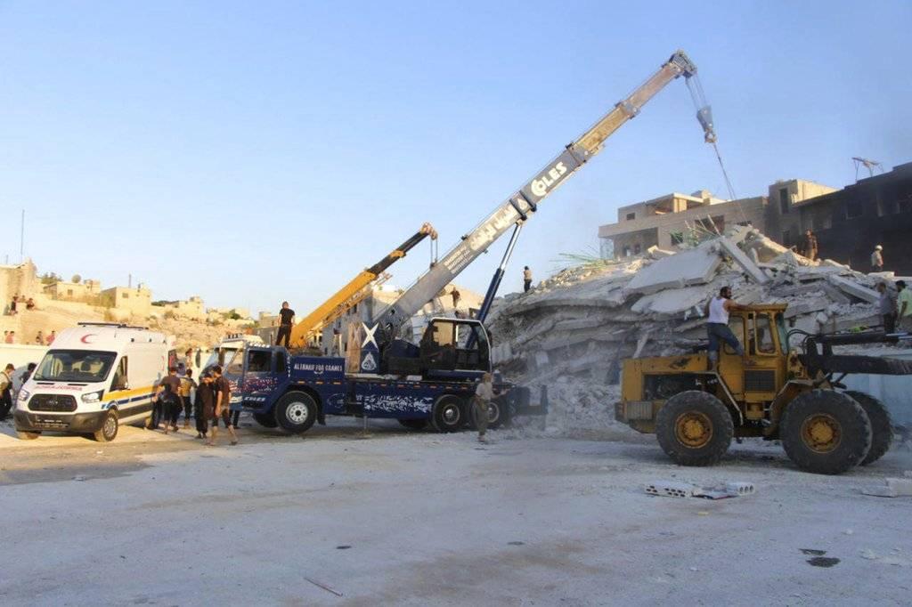 Explosión en depósito de armas en Siria