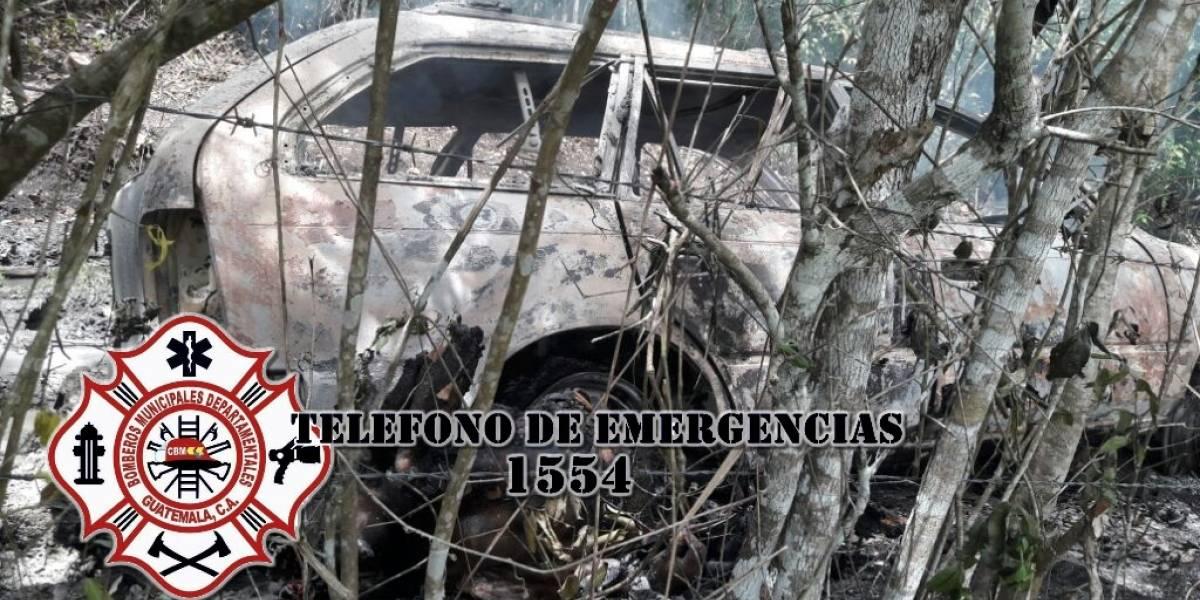 Localizan a dos fallecidos en Melchor de Mencos, Petén