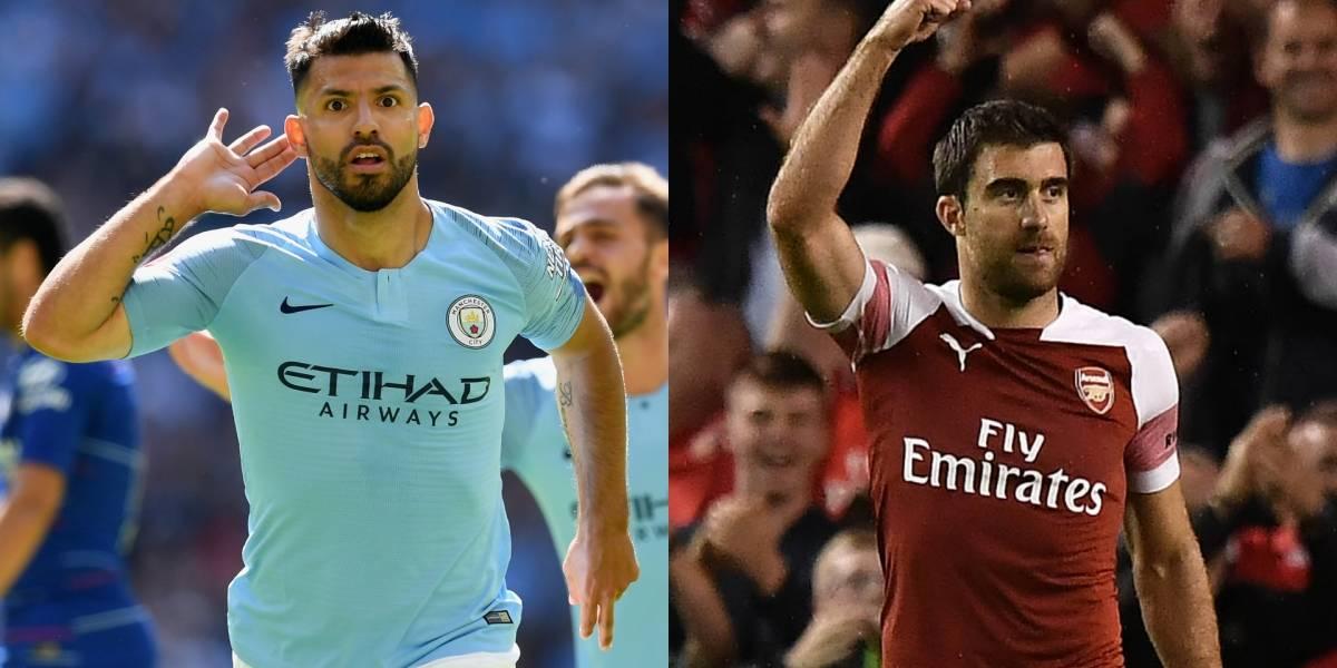 Arsenal vs. Manchester City enciende los flashes en la primera fecha de la Premier League