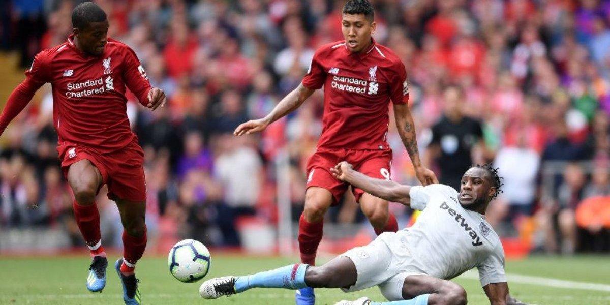 Agrio retorno de Pellegrini a la Premier League: West Ham cayó por goleada ante el Liverpool