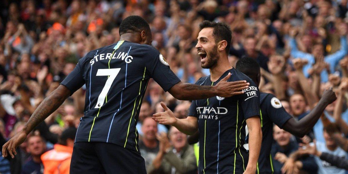 Manchester City debuta con victoria en la Premier League
