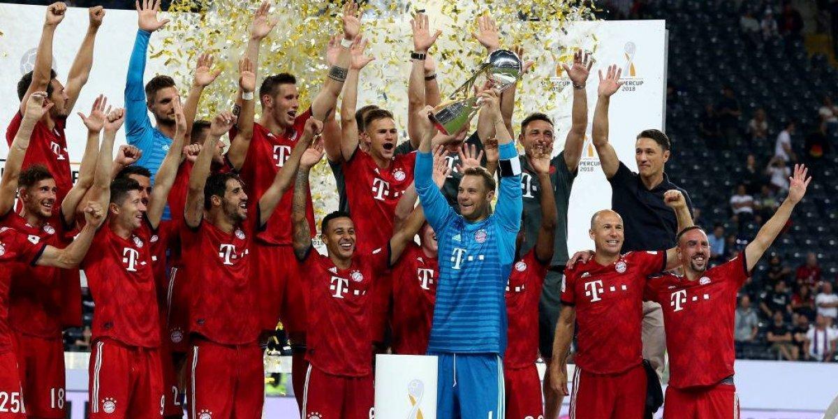 Bayern Munich se olvida de Vidal con una goleada en la Supercopa de Alemania