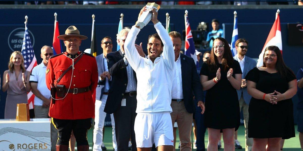 Rafael Nadal cortó la racha de Tsitsipas y ganó el título en Toronto