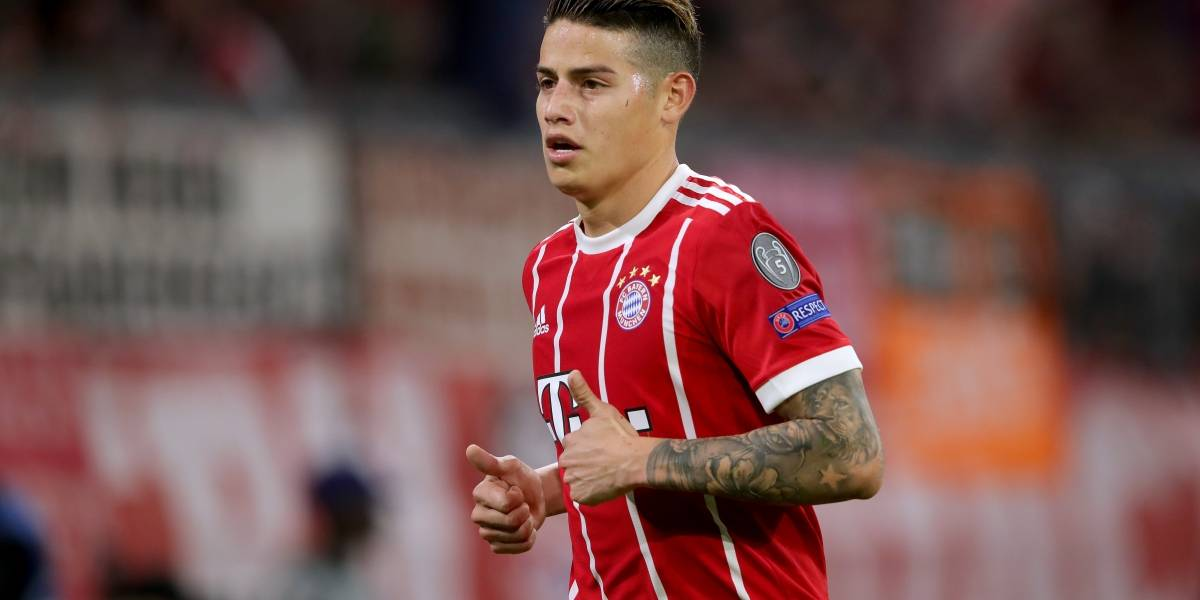 James Rodríguez sueña con otro título en el Bayern Múnich, ahora ante el Eintracht Frankfurt