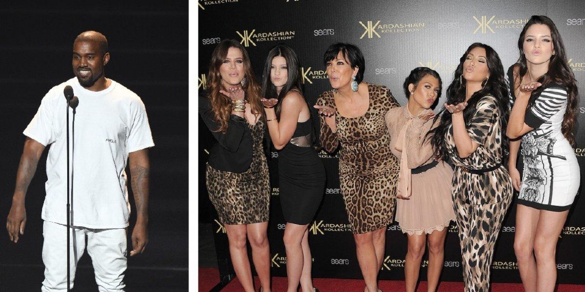Kanye West rapea sobre tener sexo con las hermanas de su esposa, Kim Kardashian