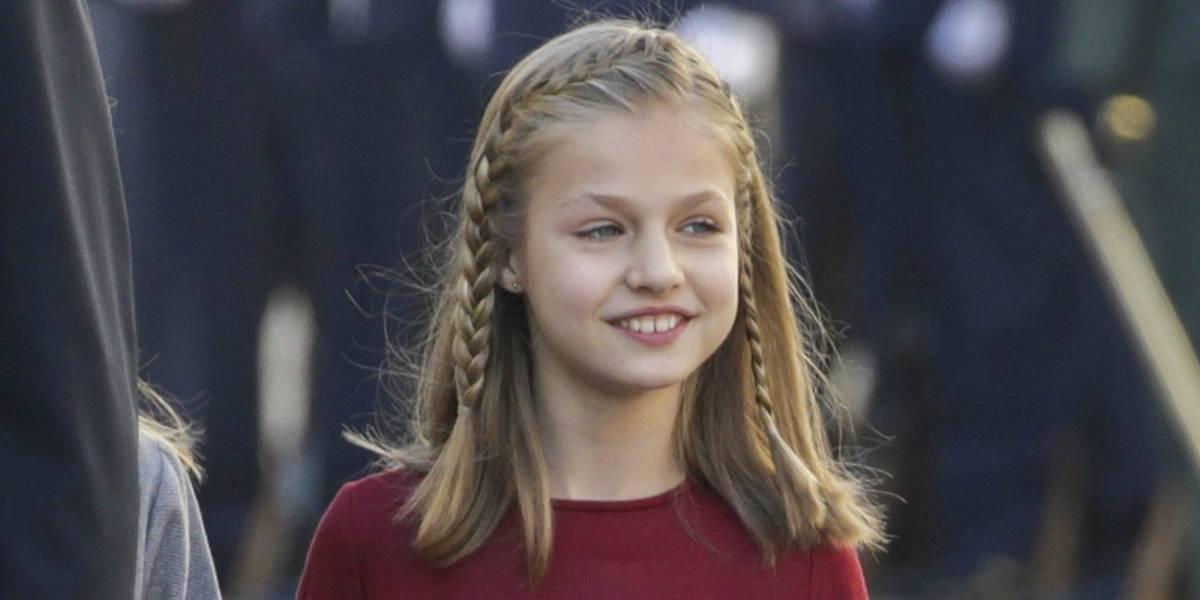 El gusto de la princesa Leonor por las películas de terror junto a su madre Letizia