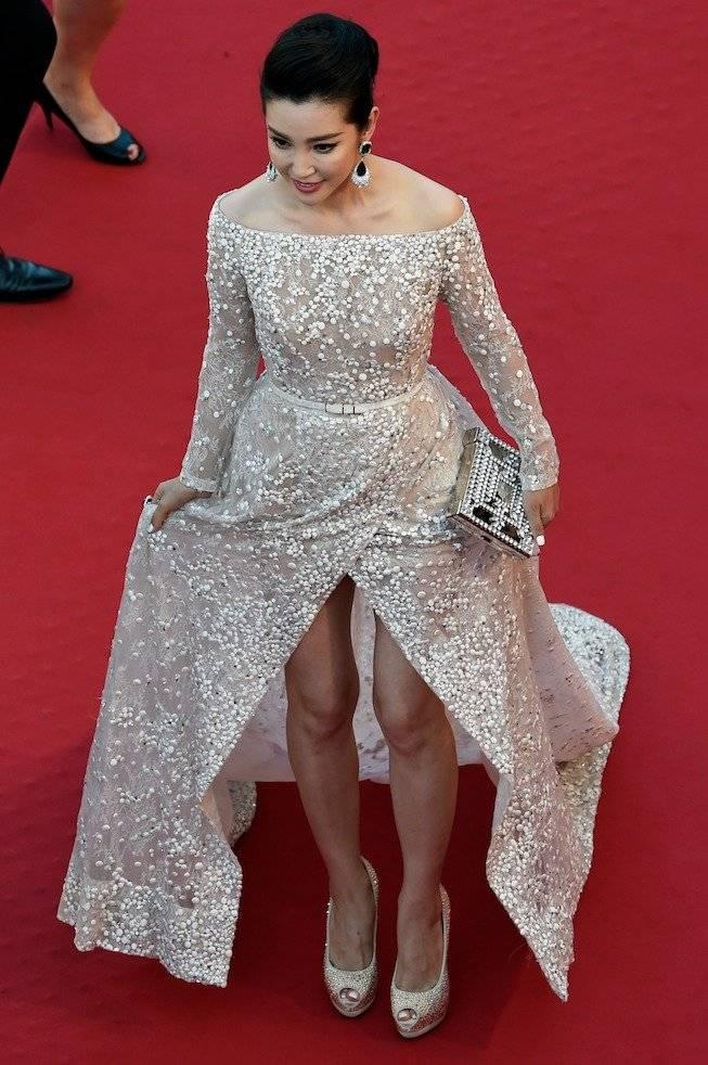 "Li Blingbling interpreta a Suyin Zhang en ""Megalodón"". Foto: AFP"